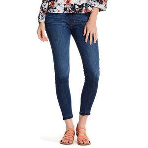 Hudson Nico Crop Skinny Jeans Medium Wash